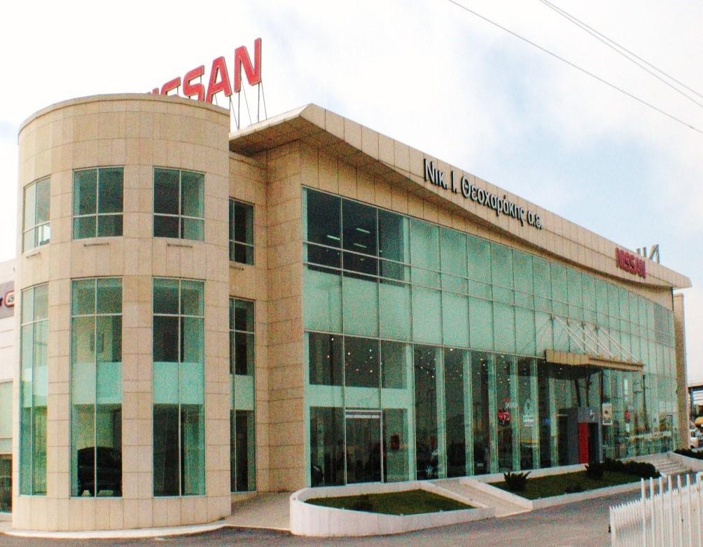 Κτηριακές εγκαταστάσεις Nissan